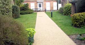 Get Resin Bound Driveway or Surface Quotation from Flintstone Solutions Hertfordshire