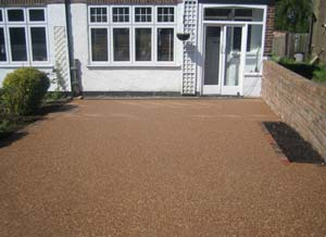 Domestic Flintstone Solutions Resin Bound Driveways