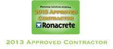 Flintstone Solutions Hertfordshire are a Ronacrete Approved Contractor 2013